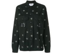star embellished shirt
