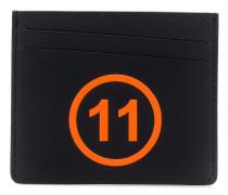 Kartenetui mit Logo-Prägung