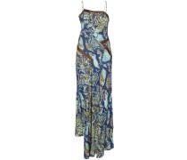 Kleid mit Schlangen-Effekt