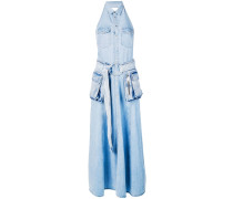 Maxikleid aus Denim