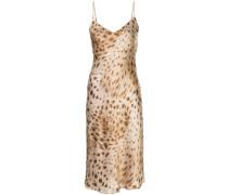 Camisole-Kleid mit Leoparden-Print