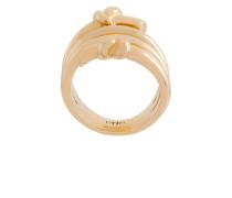 Vergoldeter 'Venus' Ring