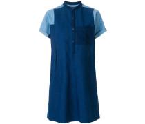 A.P.C. Kleid mit Kontrastärmeln