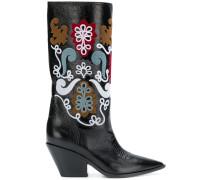 Cowboy-Stiefel mit Patches