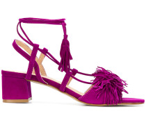 tassel detail sandals