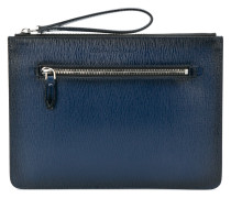 grained clutch bag