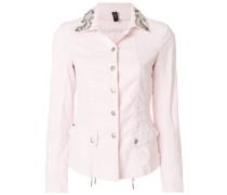 embellished collar jacket