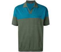 Poloshirt in Colour-Block-Optik