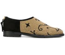 Verzierte Loafer mit Nieten