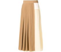 bicolour skirt