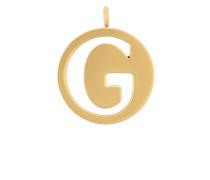 """Halskette mit """"G""""-Anhänger"""
