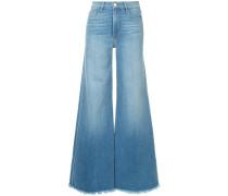 Le Palazzo raw edge jeans