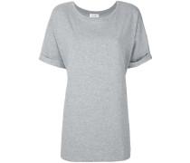 Jersey-T-Shirt aus Baumwollstretch