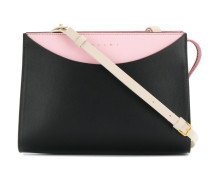 colour block shoulder bag