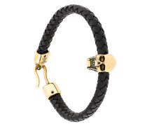 Armband mit verziertem Totenkopf