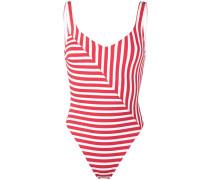 'Harley' Badeanzug mit Streifen