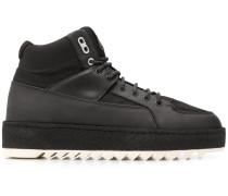 Etq. High-Top-Sneakers mit Schnürung