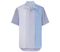 'Sensu' Patchwork-Hemd