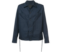 Workwear-Jacke mit Knopfleiste