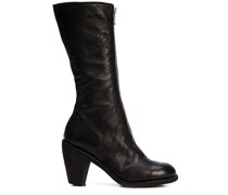 mid-calf zipped boots