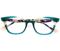 Brille mit Cat-Eye-Gestell