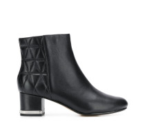 quilted panel ankle boots