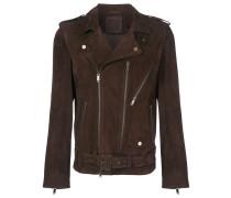 belted motor jacket