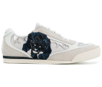 Sneakers mit Panther-Patch