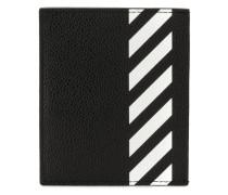 Kartenetui mit diagonalen Streifen