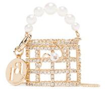 'Holli' Handtasche mit Kristallen