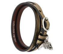Armband in Wickeloptik