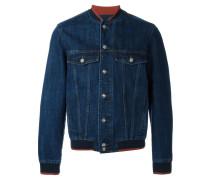 Jeansjacke mit Bündschen und Saum