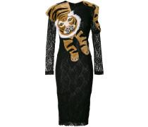 lace tiger shawl dress