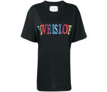 "T-Shirt mit ""Love Is Love""-Print"