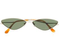 Schmale Cat-Eye-Sonnenbrille