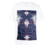 T-Shirt mit besticktem Patch