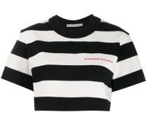 Gestreiftes Cropped-T-Shirt