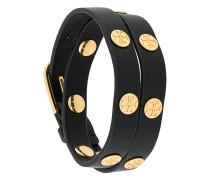 logo stud wrap bracelet