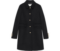 Einreihiger Mantel