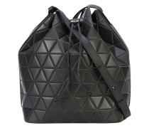 matte triangle PVC shoulder bag