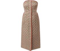 'Fuido' Kleid mit Hahnentrittmuster