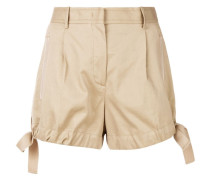 Shorts mit seitlicher Schleife