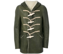 Oversized-Jacke mit Knebelverschluss