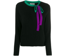 Pullover mit Schleifendetail