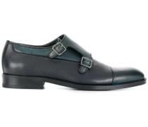 Monk-Schuhe mit Kontrasteinsätzen