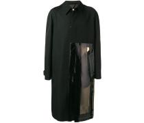 Mantel mit Vinyl-Einsatz