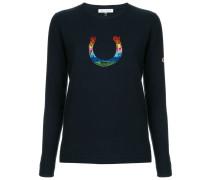 Pullover mit Hufeisen-Print