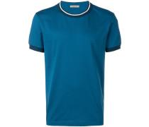 T-Shirt mit Kontrastkragen