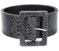 'Diamond' Gürtel aus Pythonleder