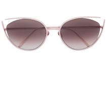 Cat-Eye-Sonnenbrille mit Cut-Out